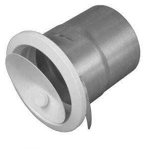 Isotip Joncoux Bouche reglable par molette avec manchette placo - 100 mm
