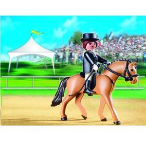 Playmobil 5111 - Cheval de dressage et cavalière