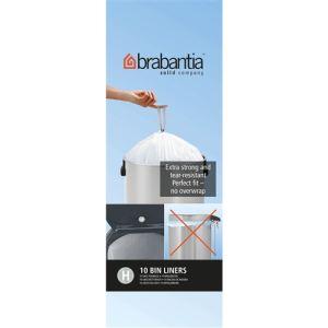 Brabantia 10 sacs de poubelle (50 L)