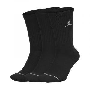 Jordan Accessoire sport Nike Chaussettes Jumpman 3 Paires - Couleur 38 / 42 - Taille Noir
