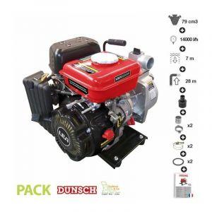 Lea Pompe à eau thermique motopompe 4 temps 14000 l/heure LE71079 79cm3 1,6cv