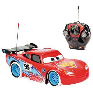 Majorette Voiture radiocommandé Cars Mc Queen Ice Racers