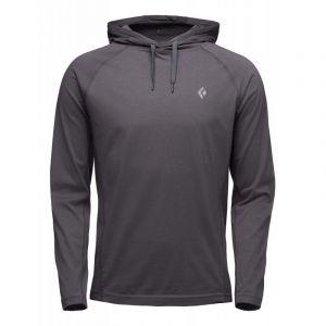 Black Diamond Crag Veste à capuche Homme, carbon XL Sweats & Vestes de sport