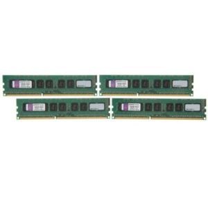 Kingston KVR16E11K4/32 - Barrettes mémoire ValueRAM 4 x 8 Go DDR3 1600 MHz CL11 240 broches
