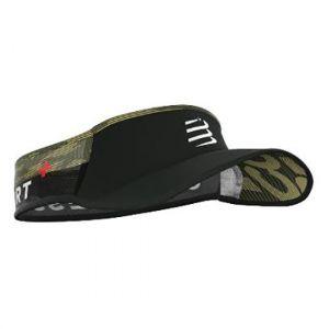 Compressport Ultralight Visor, black/camo One Size Bonnets