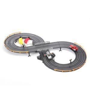 Golden Bright Circuit de course électrique avec 2 voitures