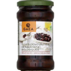 Gaea Olives dénoyautées de Kalamata biologiques