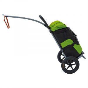 Bellelli B-tourist chariot de course à roulettes pour porte-vélos charge max. 25 kg marone