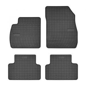 DBS 1765908 Tapis Auto en Caoutchouc - Sur Mesure - Tapis de sol pour Voiture - 4 Pièces - Caoutchouc Haute Qualité - Inodore - Antidérapant - Rebords Surélevés