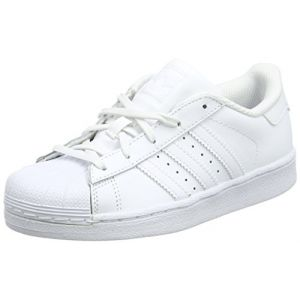 Adidas Superstar, Sneakers Basses Mixte Enfant, Blanc Footwear White, 31 EU