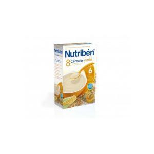 Nutribén 8 Cereals Honey 300 Gr 300 Gr
