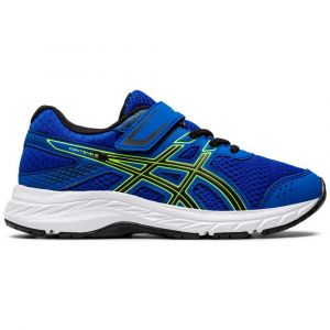 Asics Chaussures running Contend 6 Ps - Tuna Blue / Black - Taille EU 34 1/2
