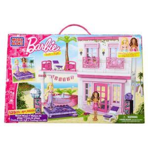 Mega Bloks 80226U - Barbie : La maison de la plage