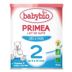 BabyBio Primea Lait de suite 2 900g - de 6 à 12 mois