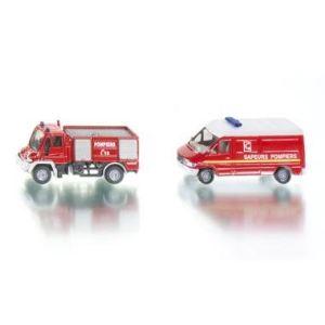 Siku 1656F - Set pompiers - Echelle 1/64