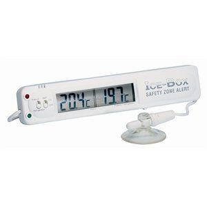Hygiplas F314 Thermomètre pour réfrigérateur congélateur avec alarme