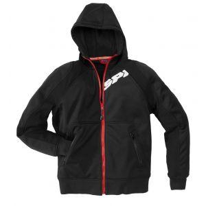 Spidi Sweat zip HOODIE ARMOR noir - 3XL