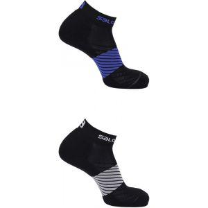 Salomon XA - Chaussettes course à pied - 2 Pack noir EU 45-47 Chaussettes Running