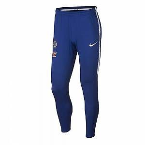 Nike Pantalon de football Chelsea FC Dri-FIT Squad pour Homme - Bleu - Taille S