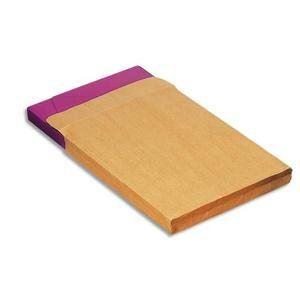 5* office 200 pochettes kraft 3 x 22,9 x 32,4 cm (120 g)