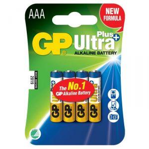 GP 4 Piles alcalines AAA/LR03 1.5 V Ultra Plus
