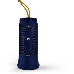 Oglo# Enceinte Bluetooth Loops 3 Bleue