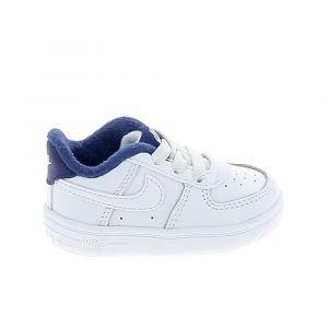 Nike Force 1 Crib BB Blanc Bleu CK2201-102