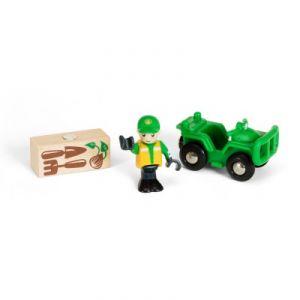 Brio 33798 - 4x4 Forestier et personnage