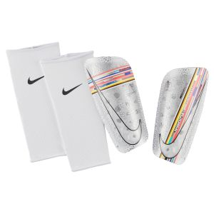 Nike Protège-tibias de football Mercurial Lite - Blanc - Taille M