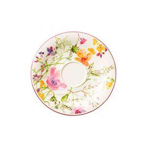 Villeroy & Boch Plat pour tasse à petit-déjeuner Mariefleur Basic 19 cm