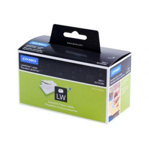 Sanford S0722380/99011 - Boîte de 4 rouleaux d'étiquettes de couleur 89x28mm. 1 rouleau jaune, 1 rose vif, 1 bleu et 1 vert