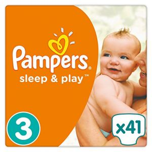 Pampers Sleep & Play taille 3 (5-9 kg) - 41 couches