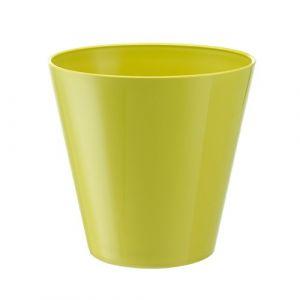 Herstera 09743 Cache-Pot avec réserve d'eau 16x15x10 cm Vert Lime