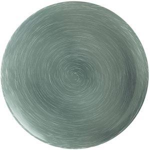 Luminarc 6 assiettes plate ronde Stonemania en verre (27 cm)