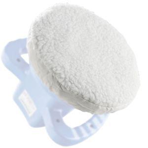 Silverline 868845 - Jeu de 2 bonnets à polir pour polisseuse-lustreuse orbitale