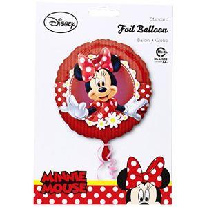 Ballon rond aluminium Minnie Mouse Polka