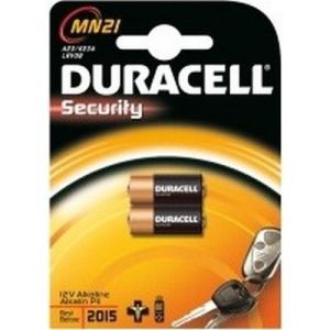Duracell Security blister 2 Piles 12V A23 (8LR23)