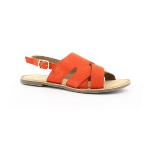 Kickers Dilani - Sandales en cuir de chèvre - orange