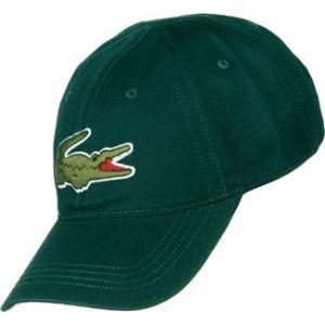Lacoste Casquette logo coton Vert