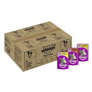 Whiskas sélection de volaille en sauce - 84 x 100 g