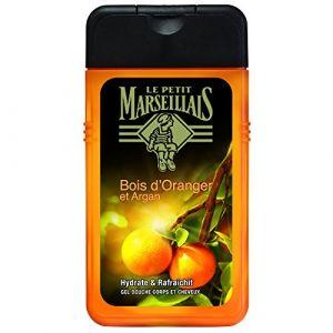 Le Petit Marseillais Hydrate & Rafraîchit - Gel douche homme corps et cheveux Bois d'Oranger & Argan