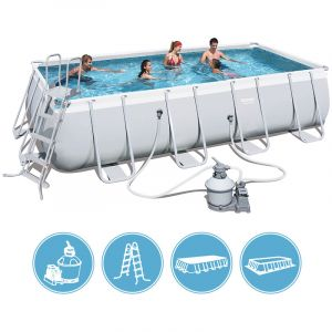 Bestway Kit piscine rectangulaire Steel Pro Frame Pools 15897 Litres