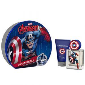 Disney Interactive Studios Captain America - Coffret eau de toilette et gel douche