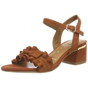Tamaris 28028, Sandales Bride Cheville Femme, Marron (Brandy), 40 EU