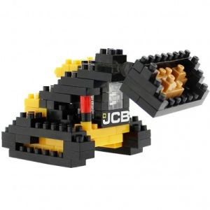 Brixies Nano Puzzle 3D - Bulldozer JCB