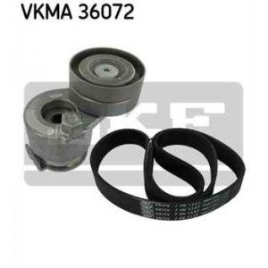 SKF Kit de courroies d'accessoires VKMA36072