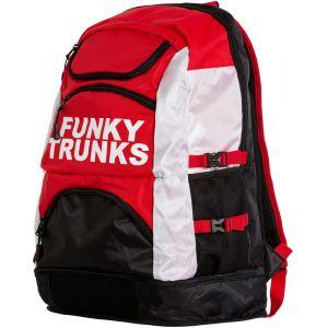 Funky Trunks Elite Squad - Sac à dos natation - rouge/noir Accessoires natation