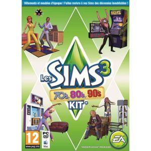 Les Sims 3 70's 80's 90's Kit - Add-on pour les Sims 3 [PC]