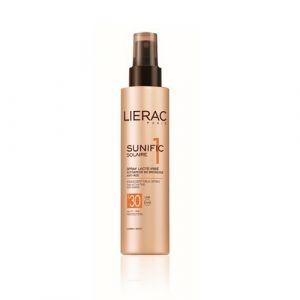 Lierac Sunific 1 Solaire - Spray lacté irisé anti-âge SPF30