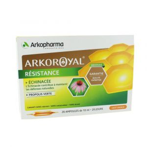 Arkopharma ArkoRoyal Propolis verte + Échinacée - 10 ampoules
